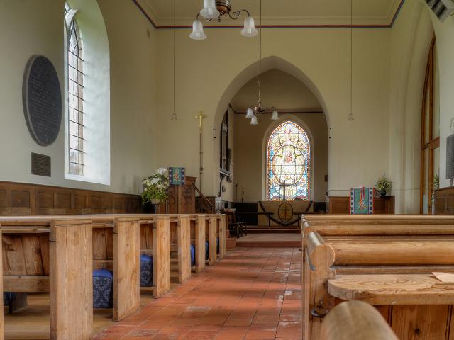The Nave, St Michael's Church, Upton Warren