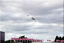 SU8707 : Battle of Britain Memorial Flight - Goodwood Revival 2012 by Christine Matthews