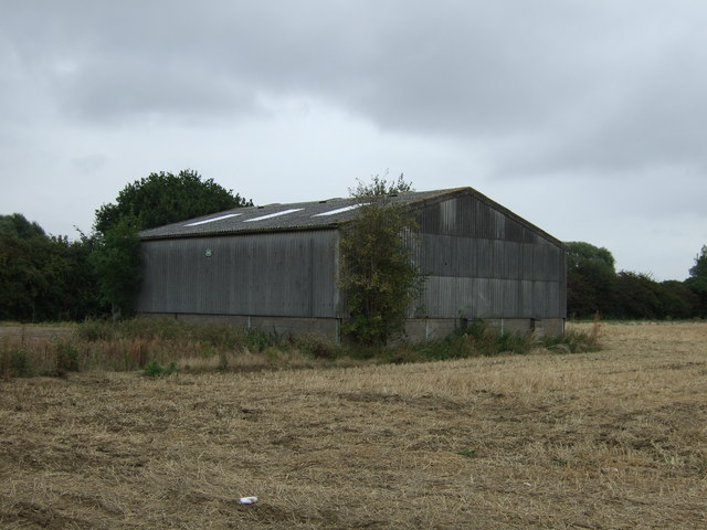 Farm building off Newborough Road