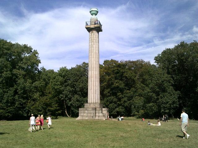 Bridgewater Monument, Ashridge Estate