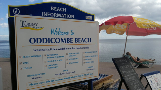 Welcome to Oddicombe Beach