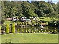 SX8963 : Rose Cottage Tea Garden, Cockington by Steven Haslington