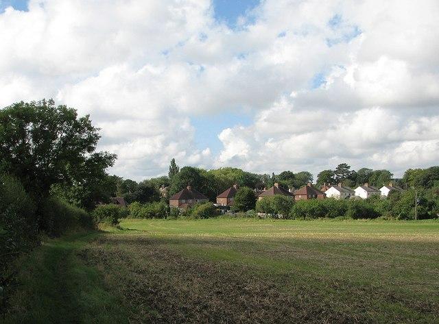 Nearing Weston Green