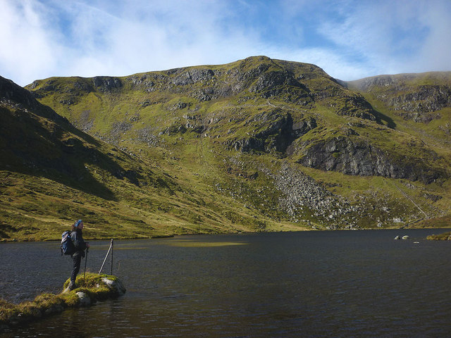 Lochan a' Choire of Geal Charn