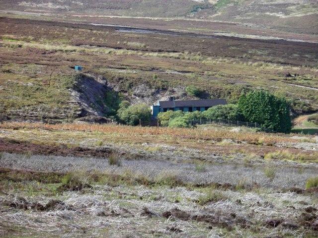 Shooting Lodge on Midhope Moors