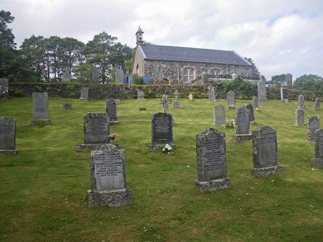 Graveyard at Acharacle