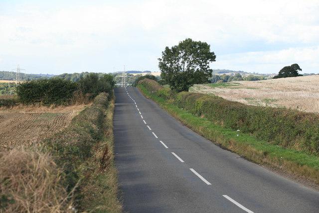 Hague Lane the B6419