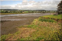 SY2591 : Axe estuary at Coronation Corner by Derek Harper