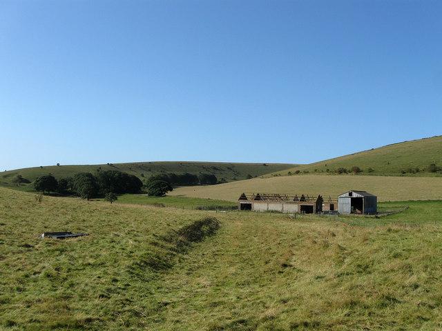 Ruined Barns, Balsdean
