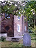 TQ2075 : Churchyard and vestry house, Mortlake parish church (1) by Stefan Czapski