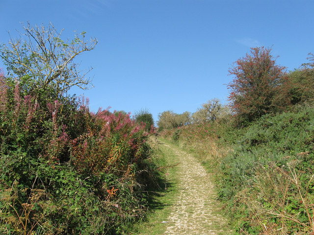 Bridleway, Castle Hill National Nature Reserve