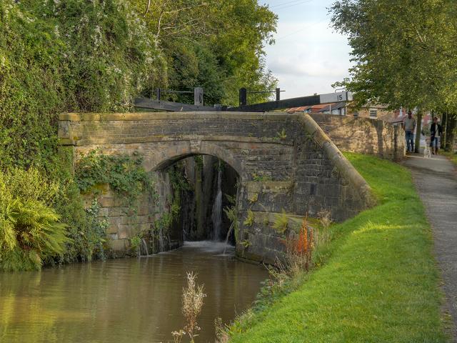Peak Forest Canal, Bridge at Lock#15