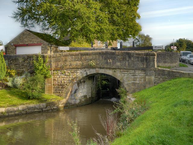 Peak Forest Canal, Bridge at Lock#16
