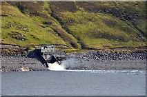 NH3272 : Tunnel exit, Loch Glascarnoch by Jim Barton