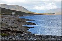NH3470 : Loch Glascarnoch shore by Jim Barton