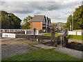 SJ9688 : Marple Lock#13, Stockport Road by David Dixon