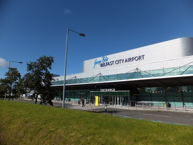 Entrance to George Best Belfast City Airport