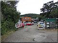 TG1141 : Station yard, Weybourne by Pauline E