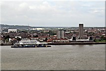 SJ3290 : Seacombe Ferry, River Mersey by El Pollock