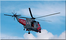 J5083 : Rescue helicopter, Belfast Lough by Rossographer