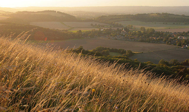 Sunset on Harting Down