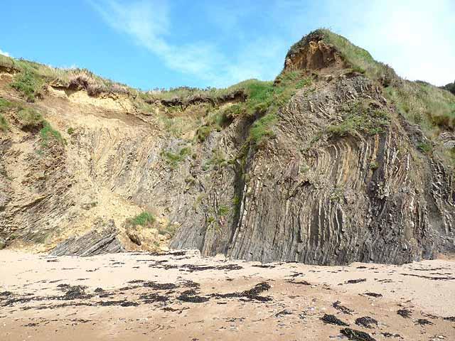 Cliffs at Bouley Bay