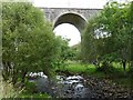 SO1310 : Sirhowy River and Nine Arches Viaduct, Tredegar by Robin Drayton