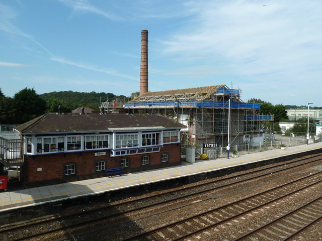Totnes - Station and former creamery
