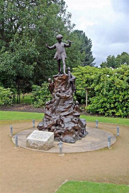 Peter Pan Statue, Sefton Park, Liverpool