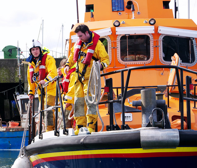 Larne Lifeboat at Bangor
