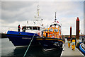 J5082 : The 'Banríon Uladh ' and Portpatrick Lifeboat at Bangor by Rossographer