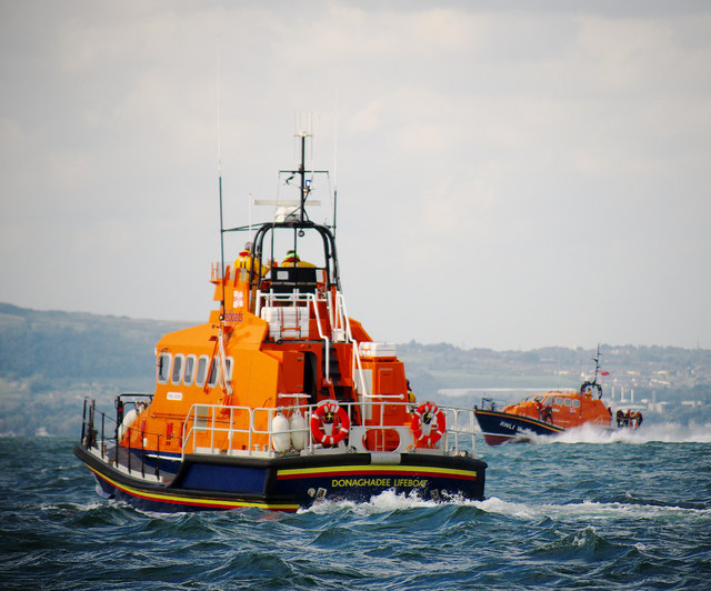 Donaghadee and Portpatrick Lifeboats, Belfast Lough