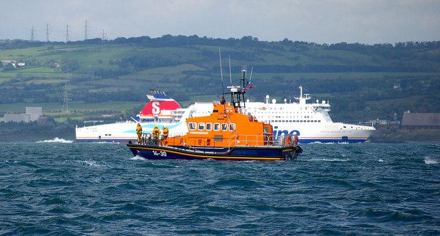 Donaghadee Lifeboat, Belfast Lough