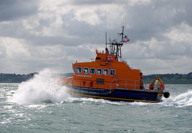 Larne Lifeboat, Belfast Lough
