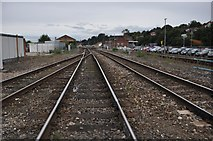 SX9193 : Exeter : Railway Line by Lewis Clarke