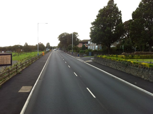 A2 near Willaston
