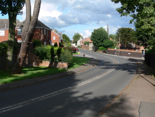 The Main Street in Asfordby
