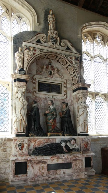 Assumption of the Blessed Virgin Mary, Harlton - Monument