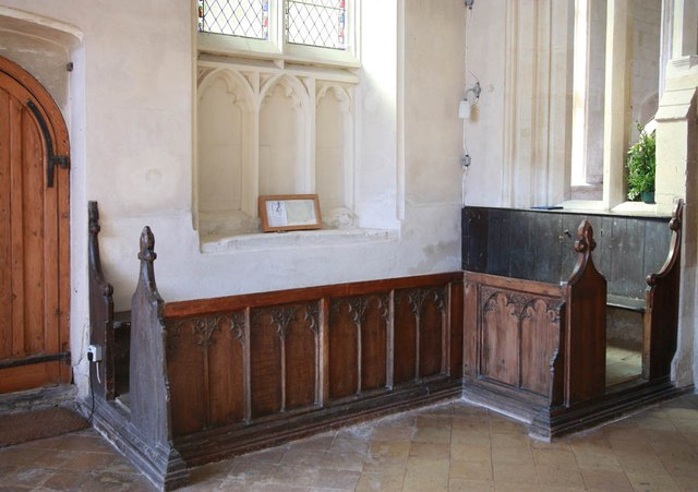 Assumption of the Blessed Virgin Mary, Harlton - Stalls