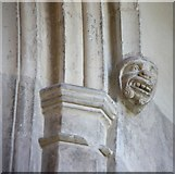 TL3852 : Assumption of the Blessed Virgin Mary, Harlton - Corbel by John Salmon