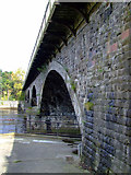 NS3421 : Railway bridge over the River Ayr by Thomas Nugent