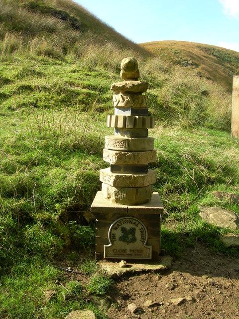 The National Trust, Close Moss Waymarker