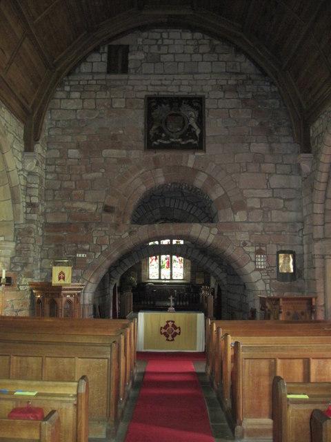 St  Michael's  Parish  Church  Barton.  Interior