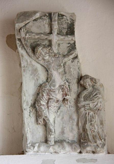 St Andrew, Orwell - Stonework