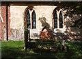 TL3250 : St Nicholas, Arrington - Windows by John Salmon