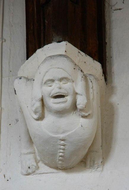 All Saints, Barrington - Corbel