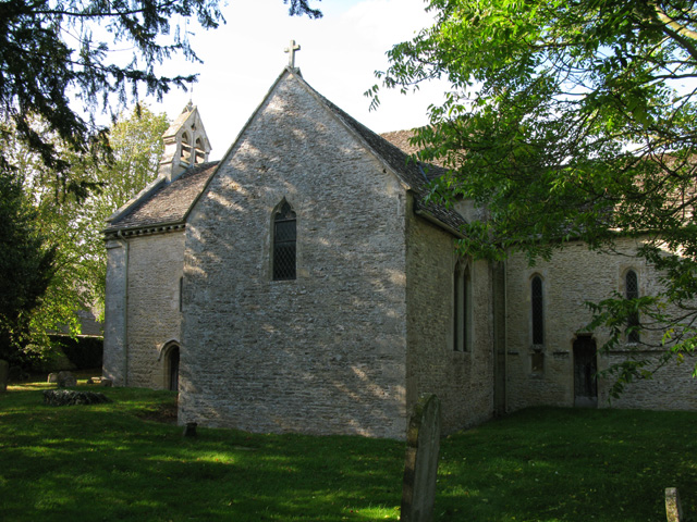 St Peter's church from the south