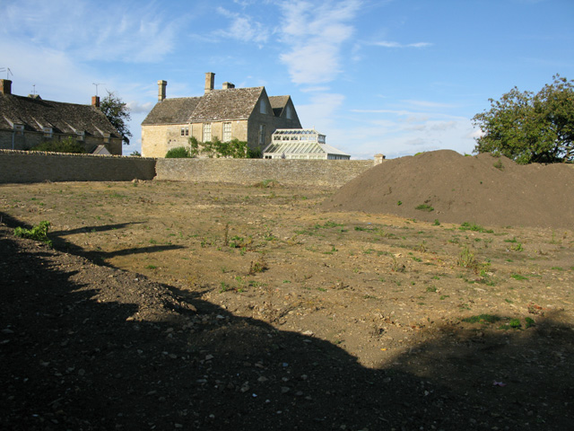 Cleared ground to the rear of the Swan pub