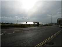 TQ3303 : Sun, sea and bus shelter by Keith Edkins