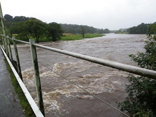 River Ribble in Spate